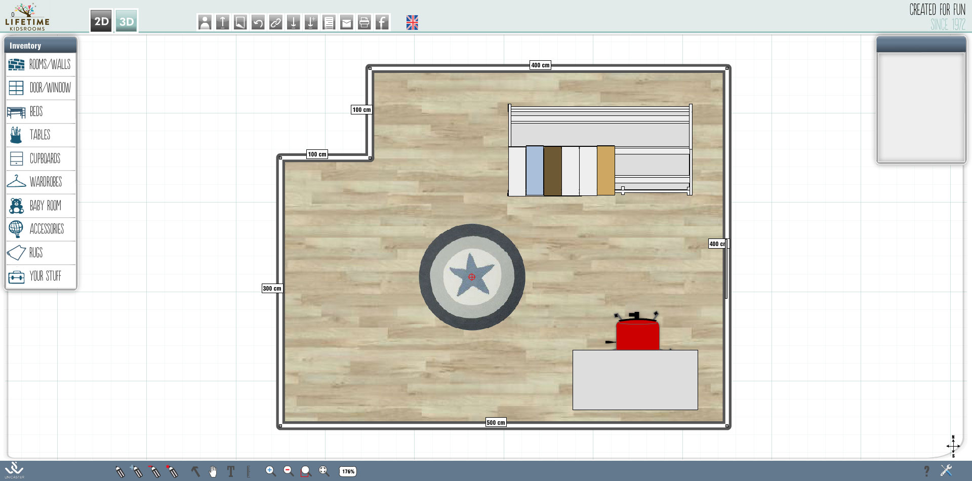 Free room layout planner best of room layout maker 4 for Bedroom layout maker
